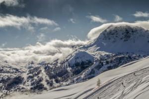 Eyssina nuageux +ski field