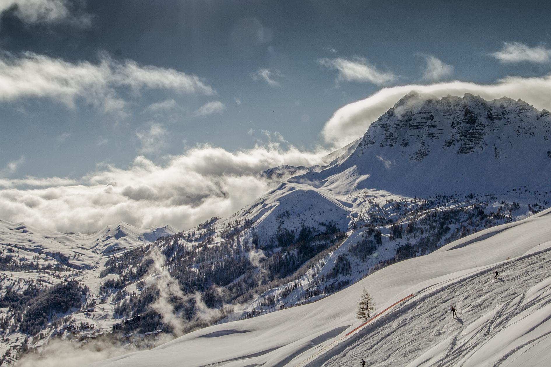hotel vars le monte pente hautes alpes hiver 233 t 233